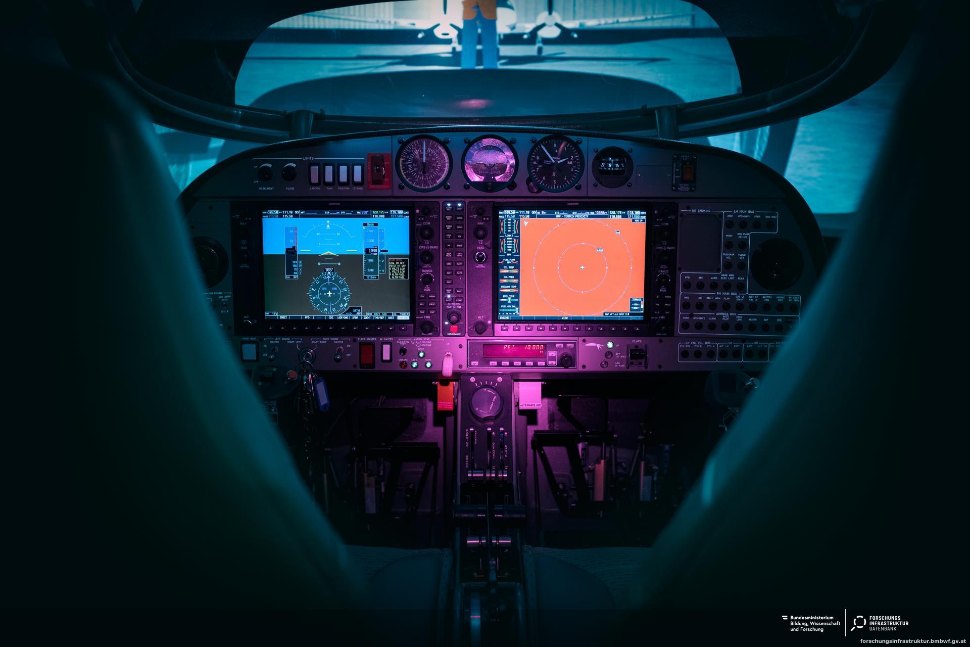 Flightdeck Flight Simulation D-SIM-42 :: Forschungsinfrastruktur
